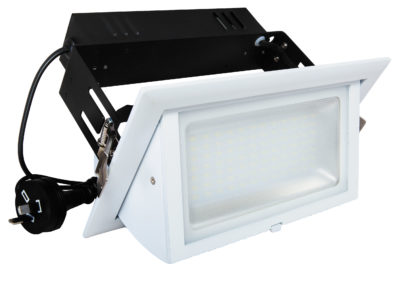 Rectangular Gimbal Shoplight 60W