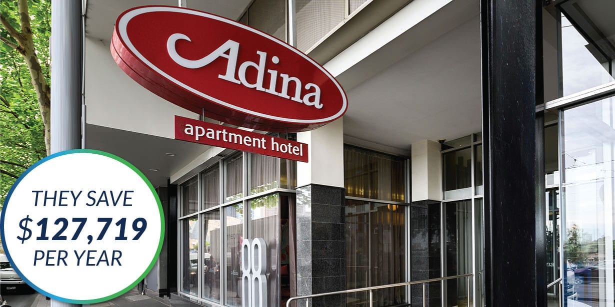 The Green Guys Group helping Adina Apartment Hotel save money with their LED Lighting upgrade