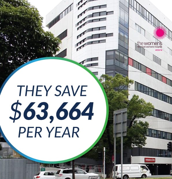 The Green Guys Group helping The Royal Women's Hospital save money with their LED Lighting upgrade