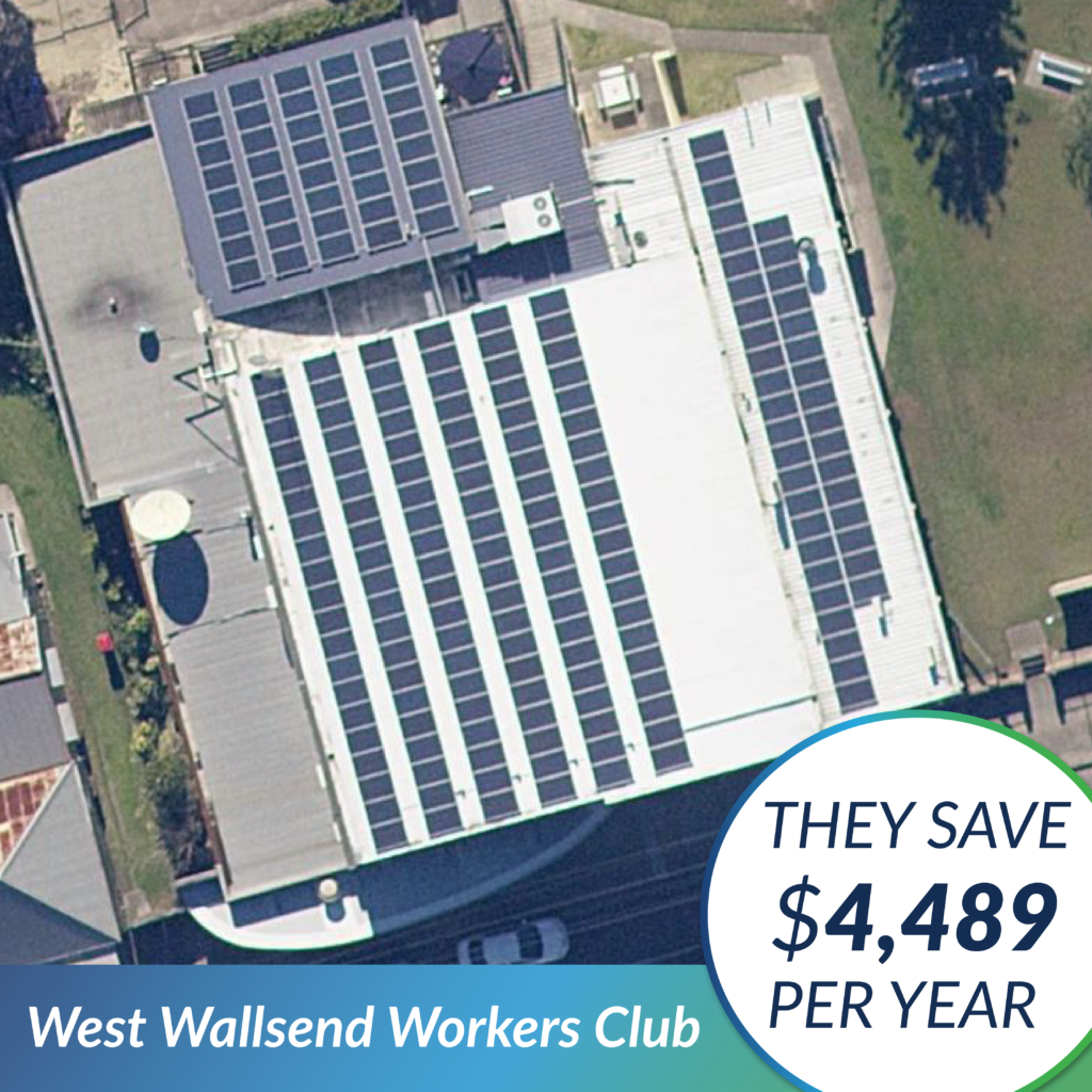 The Green Guys Group - Case Study - West Wallsend Workers Club