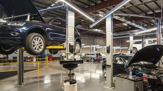 The Green Guys Group helping Audi save money with their LED Lighting upgrade