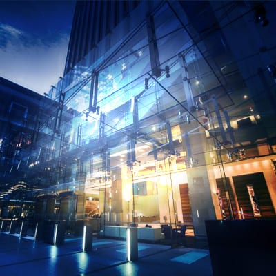 LED Lighting Solutions for hotels and convention centres from The Green Guys Group