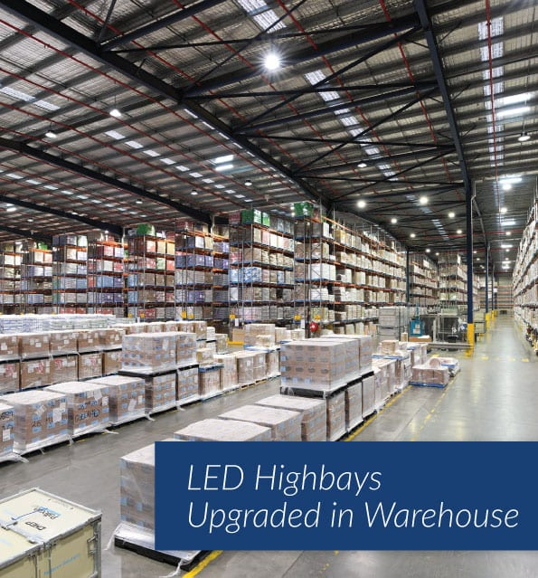 The Green Guys Group helping Nestle Distribution Centre save money with their LED Lighting upgrade