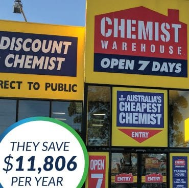 The Green Guys Group helping Chemist Warehouse save money with their LED Lighting upgrade