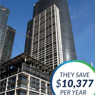 The Green Guys Group helping Freshwater Apartments save money with their LED Lighting upgrade