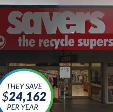 The Green Guys Group helping Savers, Footscray save money with their LED Lighting upgrade